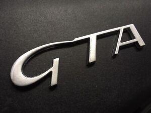 147 156 GTA Grey (not Chromed) Logo Embleme 60686739