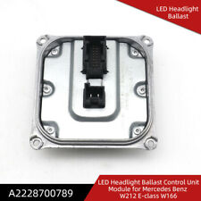 LED Headlight Control Module Unit Computer Ballast For Mercedes-Benz A2228700789