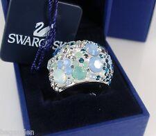 Swarovski Chic Multi Blue Ring Jewelry 1041083-Medium 55 (6.5) / Small 52 (5.25)