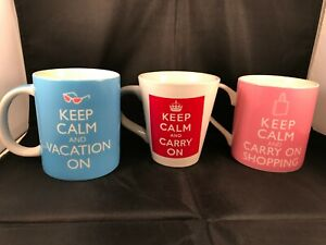 Keep Calm Coffee Tea Cup Mug