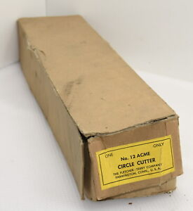 Vintage Fletcher No. 12 Acme Circle Cutter IOB (INV H500)