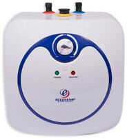 Small Electric Water Heater Mini Tank Point-Of-Use 4.0-Gal 120v Instant Hot NEW
