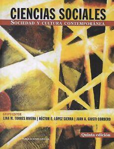 Ciencias Sociales. Sociedad y cultura contemporanea (Quinta Edición)