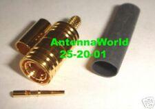 Antenna Connector SMB FEMALE CRIMP RG-174 LMR-100  XM Sirius Nickel Plated