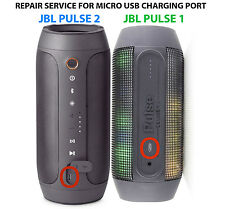 JBL PULSE 2 1 Bluetooth Speaker FAST REPAIR SERVICE For Micro USB Charging Port