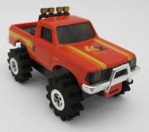 Vtg Schaper Stomper Red Chevrolet LUV Truck 4x4 Toy READ