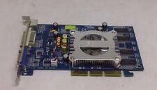 PNY VCG62256APB GeForce 6200 DDR 256MB AGP VGA/DVI/SV Video Graphics Card TESTED