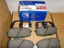 "Genuine Hyundai Front Brake Pads i30 2007 On 15"" Wheels 581011HA10"
