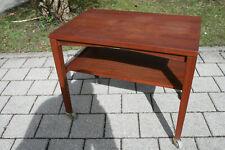TRUE VINTAGE WILHELM RENZ Echtholz BEISTELLTISCH Tisch 60er Coffee Table