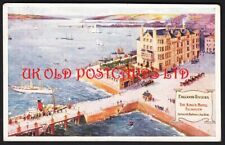 Cornwall - FALMOUTH, The King's Hotel, Harbour & Sea View, used 1910