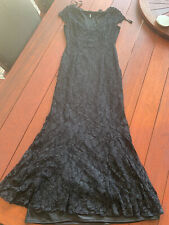 Mr K Black Lace Dress Size 14