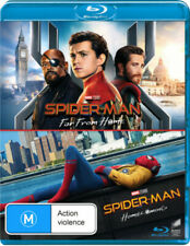 Spider-man Far From Home Homecoming 2 Disc Blu-ray Set Reg B