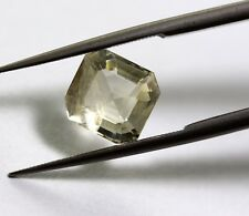 Natural Sapphire Loose Octagon Cut Gemstone 2.37 Ct Yellow Color Ceylon Mines A+