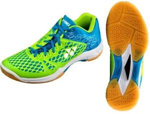 Yonex Power Cushion 03 Men's Indoor Court Shoes - Blue/Lime - Reg $199