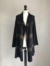 "MASAI Lovely Viscose & Merino Mix Striped Knit Cardigan M 40"" Chest"