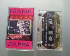 FRANK ZAPPA IN NEW YORK - LIVE -  RARE CASSETTE TAPE ALBUM