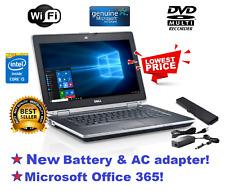 DELL LATITUDE E6430 LAPTOP WINDOWS 10 PRO DVD+RW INTEL i5 2.6GHz 8GB 500GB HDMI