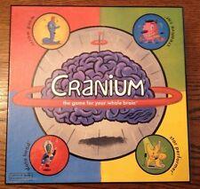 CRANIUM 2002 Game for Your Whole Brain COMPLETE EUC