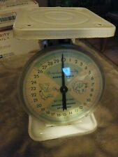 Vintage 1960's American Family Nursery Baby scale-30 lbs by ounces