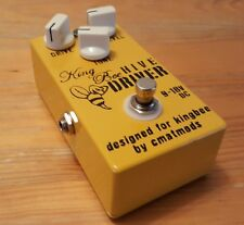 King Bee Hive Driver Cmatsmods Preamp Overdrive Distortion Clean Boost ShipWW