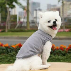 100% Cotton Dog Shirt for Pet Clothes Puppy T-Shirts Cat Tee Breathable Strechy