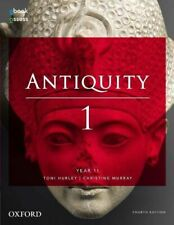 NEW Antiquity 1 Year 11 Student book + obook assess By Toni Hurley Free Shipping