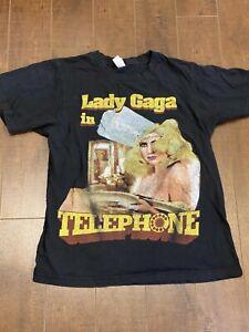 Lady Gaga The Monster Ball 2010 Telephone Tour Shirt Small
