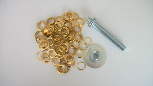 """103pc 1/2"""" GROMMET KIT includes PUNCH - Tarps, Tents, Awnings"""