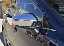 Chrome Door Side Rear View Mirror Garnish Cover for Mazda 3 BM 13-16