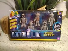 CHARACTER BUILDING DOCTOR WHO 5 CYBERMEN COLLECTOR SET