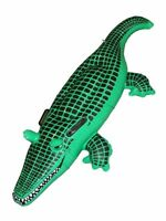 Large Crocodile Inflatable Blow Up Swimming Kids Children Play Floats Beach Gift
