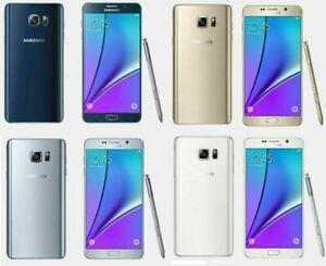 Samsung Galaxy Note 5 GT-N920F 32GB Black Silver Blue Unlock Android Smartphone