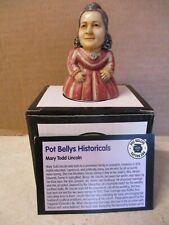 "Harmony Ball Pot Bellys ""Mary Todd Lincoln"" Treasure Box.#Pbhml2 New. Box. Card."