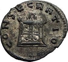 Divus CLAUDIUS II Gothicus 270AD Rome CONSECRATIO Roman Coin Quintillus i65437