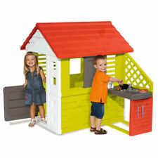Smoby Nature Playhouse with Summer Kitchen, Smoby Playhouse with Summer Kitchen