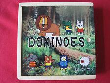 28-delig houten dominospel - Dominoes - Jeu de dominos Animaux