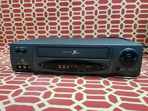 Vintage Zenith VRC4225 4 Head Stereo VCR VHS Video Cassette Recorder & Player