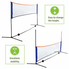 10 Feet Portable Badminton Volleyball Tennis Net Set with Stand/Frame Carry Bag