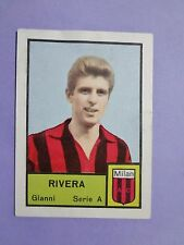 FIGURINA CALCIATORI MIRA FOOTBALL STICKERS RIVERA MILAN 1964-65 B.GRANDE NEW-FIO