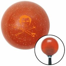 American Shifter 46765 Red Metal Flake Shift Knob with 16mm x 1.5 Insert Black 8 Ball
