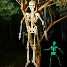 Halloween Hanging Skeleton Luminous Scary Props Outdoor Party Decoration Hot//