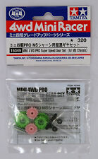 Tamiya 15349 Mini 4WD PRO Super Speed Gear Set (for MS Chassis)