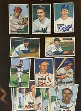 1951 Bowman Baseball Card Lot 23 Different VG/VG+