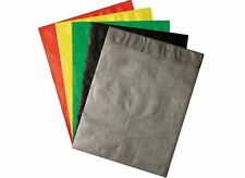 COLOR TYVEK® ENVELOPES 9 x 12 100/lot Black, Green, Red, Silver, Yellow