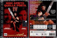 NON APRITE QUELLA PORTA IV - DVD NUOVO E SIGILLATO, PRIMA STAMPA, JEWEL BOX