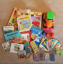 Kleinkinder Kinder Paket Spiele, Spielzeug, Bücher und Kassetten