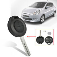 2 Buttons Remote Key Fob Case Shell For Mitsubishi Colt Warior Carisma  W