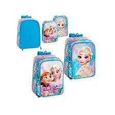 Frozen Elsa Ana Dos Mochila en Una Adaptable a Carro Escolar Junior Chica