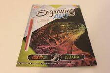 Grafix Engraving Art  - Scraper Foil Kit - Iguana - Craft Art Activity Gift