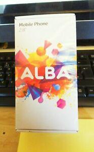 SIM Free Alba 2.8 Inch 2G Mobile Phone - Black Dual Sim